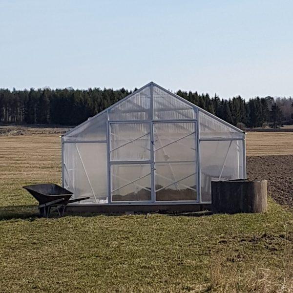 Växthusbyggnad